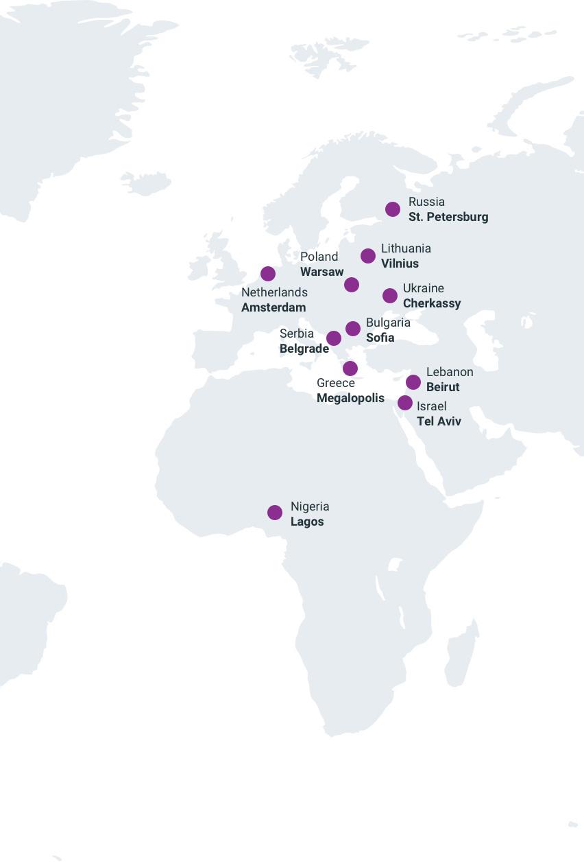 Distributors Page Map Slide 3